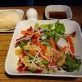 Photos: デルタ航空ビジネスクラス洋食サラダ