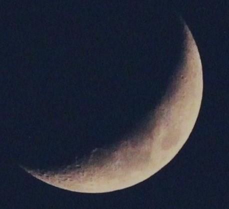 弓張月前夜(薄暮) 05:15
