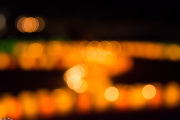 光石灯りの街2013