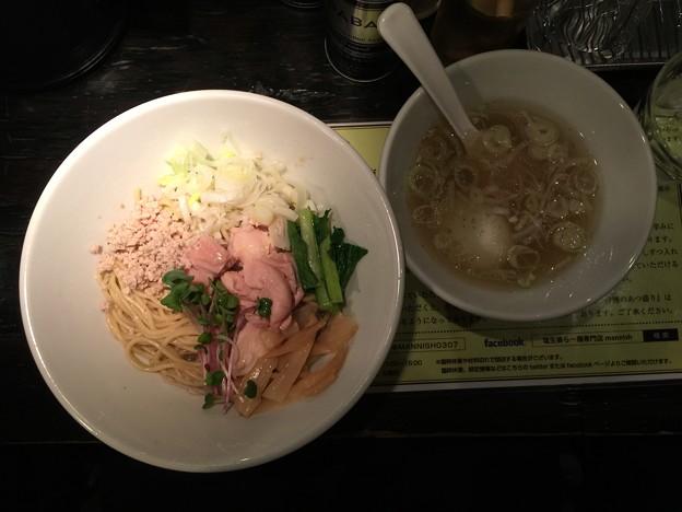塩生姜らー麺専門店MANNISH(マニッシュ)@神田(千代田区内神田)