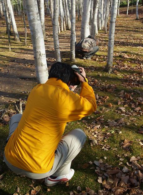 撮る人を撮る人を撮る