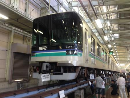埼玉高速鉄道2000系2107F 埼玉高速鉄道線浦和美園車両基地にて