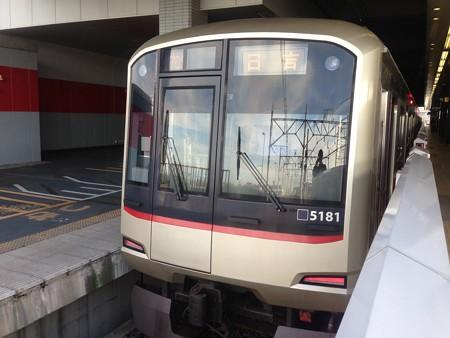 東急5080系5181F 埼玉高速鉄道線浦和美園にて