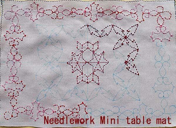 刺し子/オリジナルデザイン(C) Needlework Sashiko