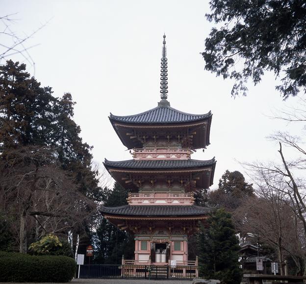 真禅院 三重塔