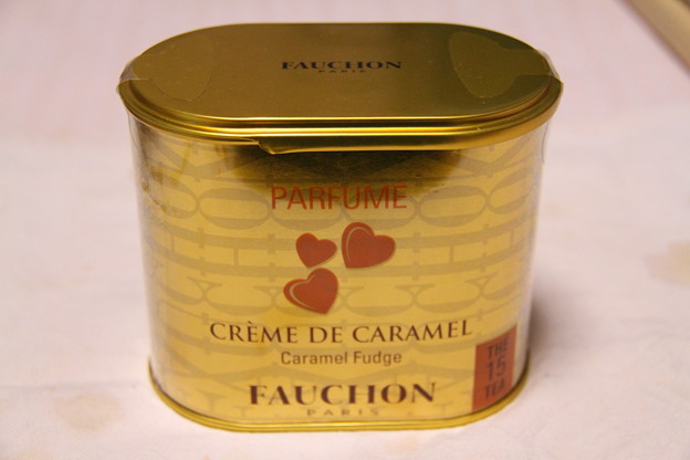 FAUCHON CREME DE CARAMEL(フォション キャラメルクリーム)の缶