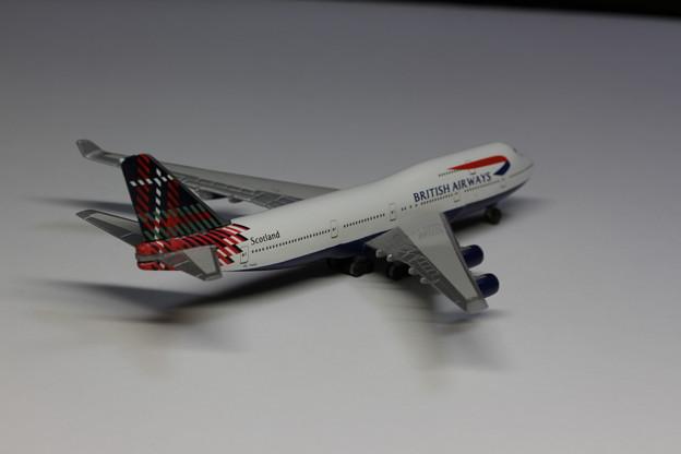 British Airways Boeing 747-400 Scotland (2)