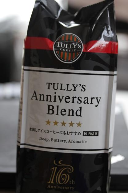 TULLY'S Anniversary Blend(タリーズ アニバーサリー ブレンド)パッケージ