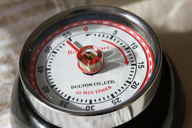 DULTON COLOR KITCHEN TIMER WITH MAGNET -あと54分-