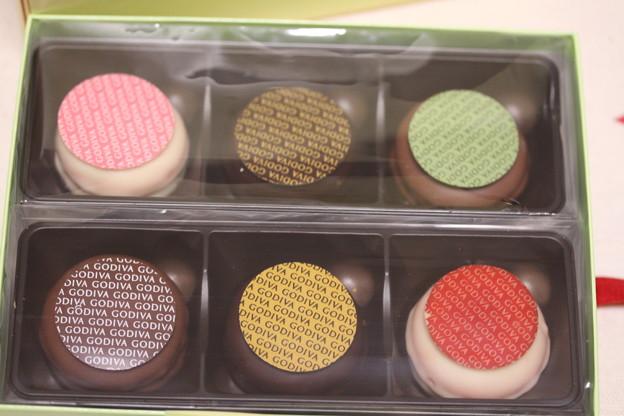 GODIVA MACARONS CHOCOLATS(ゴディバ マカロン チョコレート)6個