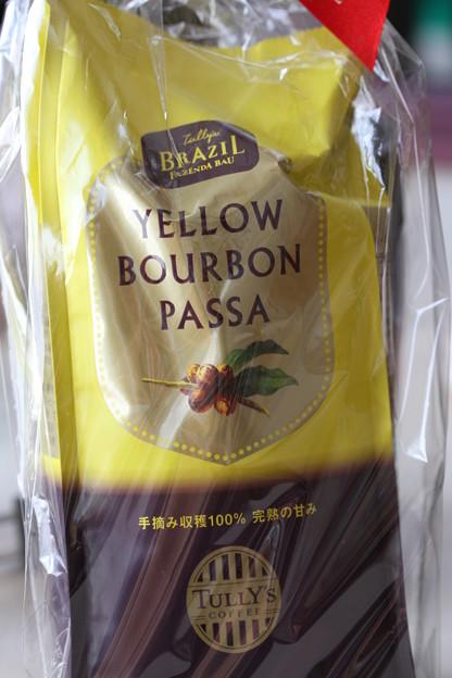 TULLY'S CUPPER RESERVE COLLECTION TULLY'S BRAZIL FAZENDA BAU YELLOW BOURBON PASSA 袋1