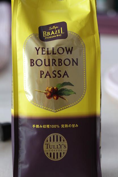 TULLY'S CUPPER RESERVE COLLECTION TULLY'S BRAZIL FAZENDA BAU YELLOW BOURBON PASSA 袋2