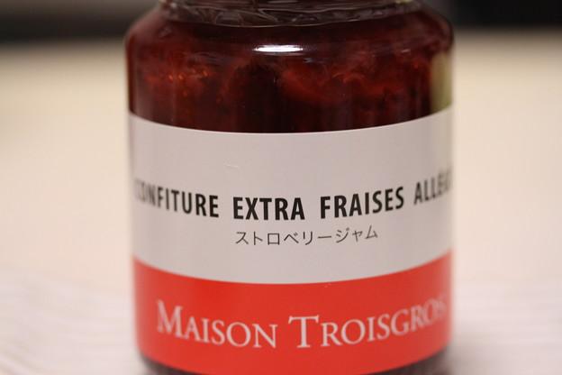 MAISON TROISGROS CONFITURE EXTRA FRAISES ALLEGEE(メゾン トロワグロ ストロベリー ジャム)瓶