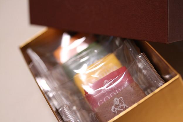 GODIVA SABLES CHOCOLAT(ゴディバ サブレ ショコラ)色とりどり