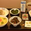 写真: 節分の日の夕食