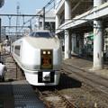 写真: 日暮里駅JR常磐線ホームから…?