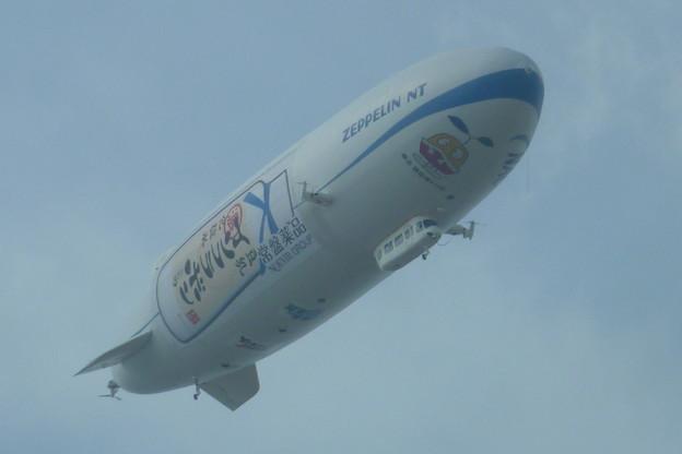 Photos: 飛行船、再び…
