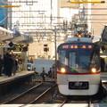 写真: 平日朝のラッシュ