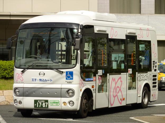 バスは「モデル運行」、私は「テスト撮影」…(^_^;)