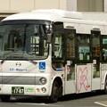 写真: バスは「モデル運行」、私は「テスト撮影」…(^_^;)