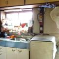佇む台所を…