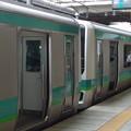 JR松戸駅ホームにて…