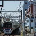 写真: 京成小岩駅ホームにて…(2)