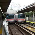 写真: 東京メトロ丸ノ内線後楽園駅ホームにて?