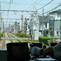 写真: 都電荒川線の車窓から(2)