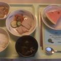 写真: トロピカルな夕食メニュー(1)