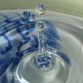 写真: 一滴のオブジェ(1)