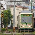 Photos: 自分が乗る電車は…?