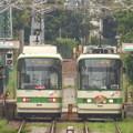 写真: 飛鳥山電停にて 2013.9.24?