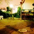 夜の児童公園