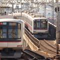 写真: 武蔵小杉駅ホームにて(1)