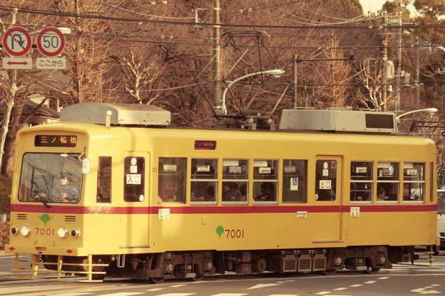 「赤帯車」になった7001号車(3)