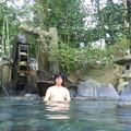 猿ヶ京温泉・ホテル湖城閣 岩風呂