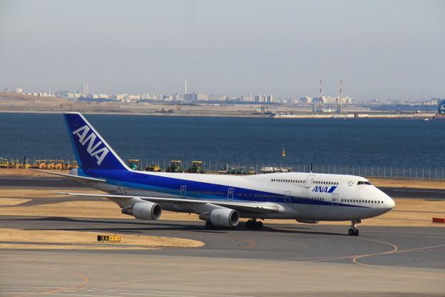 全日空 B747-400