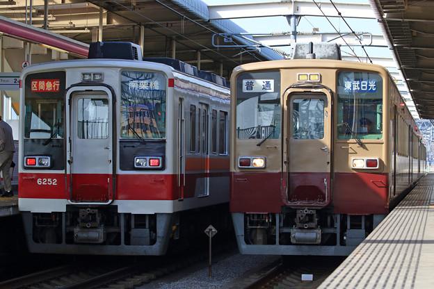 52列車と909列車