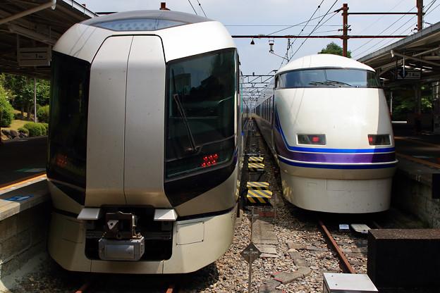 1028列車と1024列車