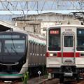 Photos: C4813K列車と2524列車