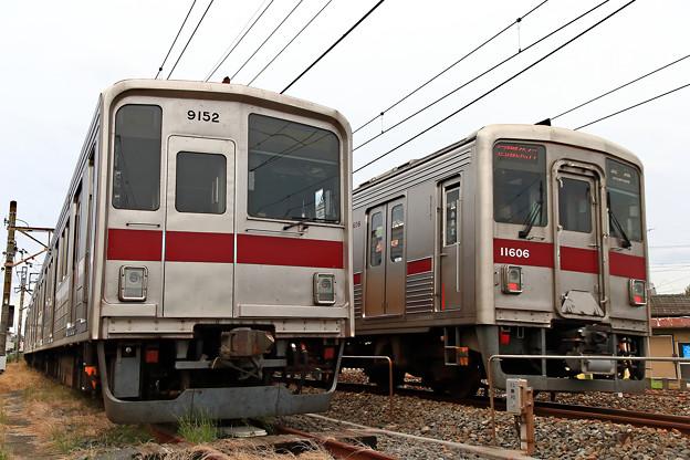 9152号車と11606号車