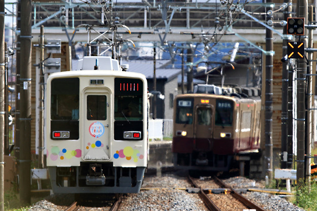 5984列車と921列車