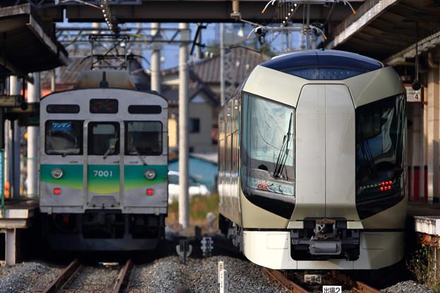 秩父鉄道7001号車と509編成