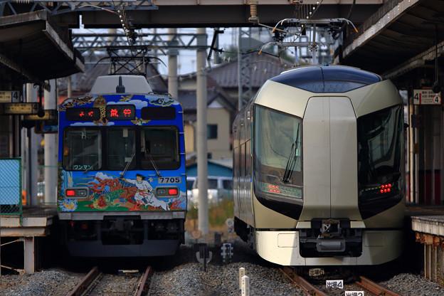秩父鉄道7705号車と号車と509編成