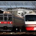 Photos: C4830K列車と1310列車