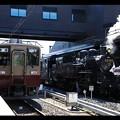 Photos: 914列車とSL大樹1号