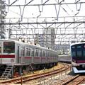 Photos: 7601列車充当車両とD862T列車