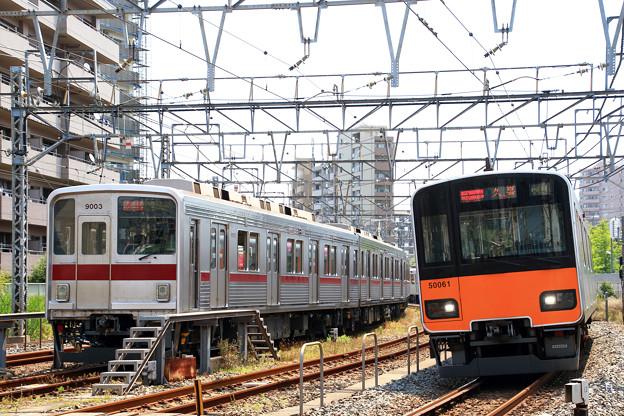 7601列車充当車両とF860T列車