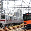 Photos: 7601列車充当車両とF860T列車